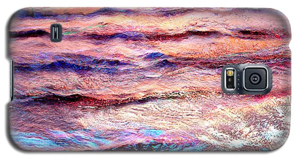 Everything Is Motion - Abstract Art Galaxy S5 Case