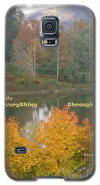 Everything With Prayer Galaxy S5 Case