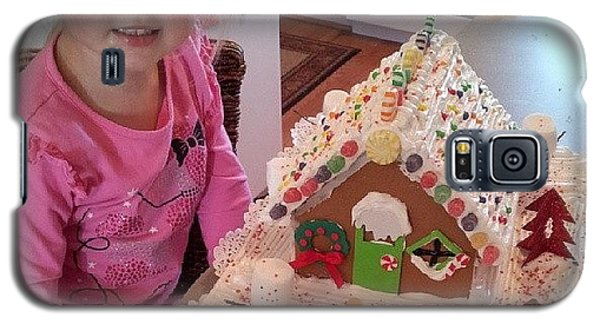 Holiday Galaxy S5 Case - Evey And Mommy Finished The Gingerbread by Chris Morgan