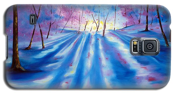 Galaxy S5 Case featuring the painting Evident by Meaghan Troup