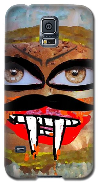 Evil Cheese Sandwhich Galaxy S5 Case