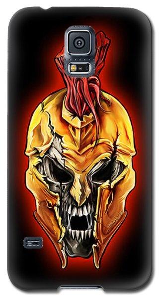 Evil Spartan Skull Galaxy S5 Case