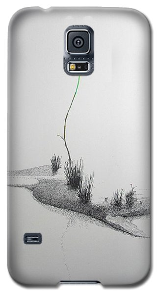 Galaxy S5 Case featuring the painting Evocation by A  Robert Malcom