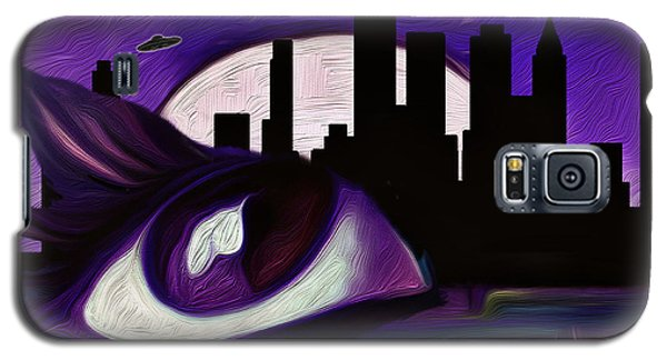 Galaxy S5 Case featuring the painting Evolution by Persephone Artworks