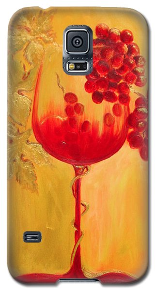 Galaxy S5 Case featuring the painting Evolution by Sheri  Chakamian