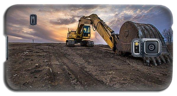 Excavator Galaxy S5 Case