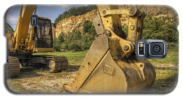 Excavator At Big Rock Quarry - Emerald Park - Arkansas Galaxy S5 Case