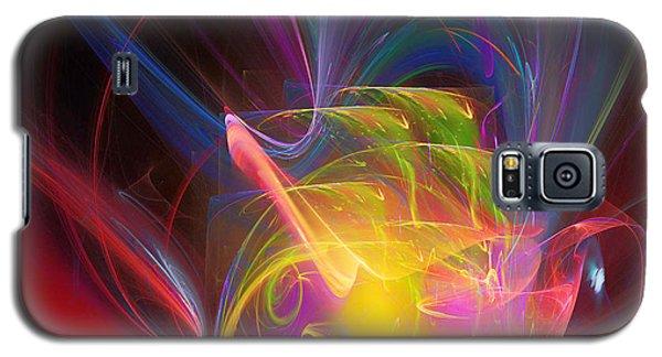 Galaxy S5 Case featuring the digital art Exceeding Joy by Margie Chapman