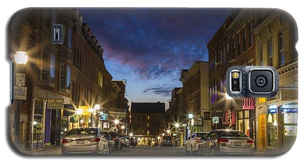 Exchange Street Portland Maine Galaxy S5 Case