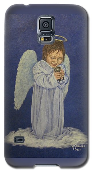 Galaxy S5 Case featuring the painting Excitement by Wendy Shoults