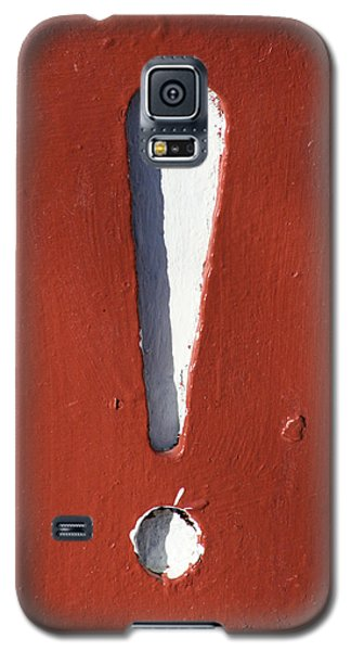 Exclamation Point Galaxy S5 Case