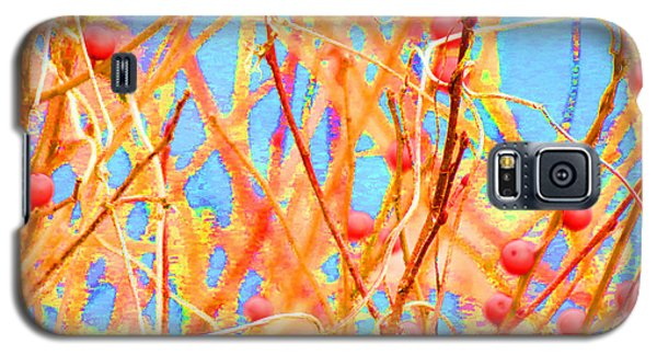 Galaxy S5 Case featuring the digital art Exhuberance by Aurora Levins Morales
