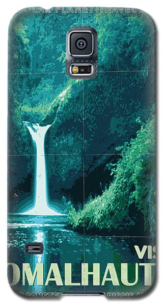 Aliens Galaxy S5 Case - Exoplanet 04 Travel Poster Fomalhaut B by Chungkong Art