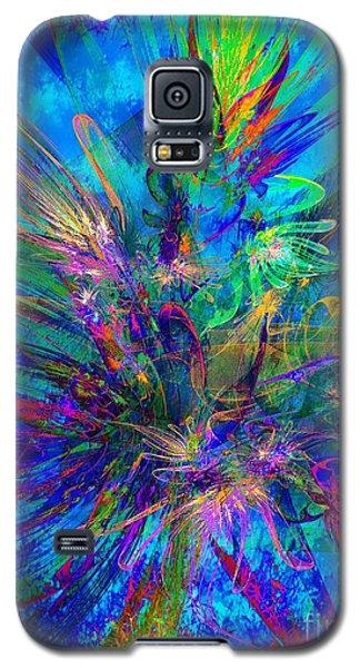 Exotic Dream Flower Galaxy S5 Case