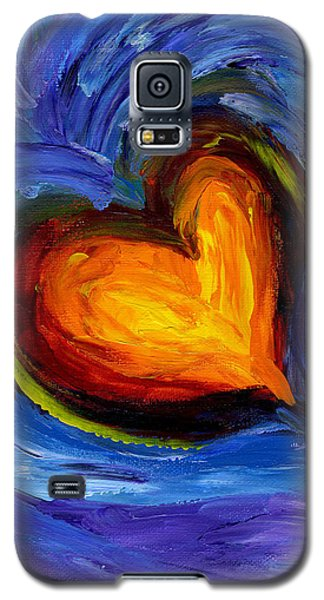 Expansion Of The Heart Galaxy S5 Case