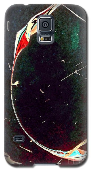 Galaxy S5 Case featuring the painting Exploring New Depths by Jacqueline McReynolds