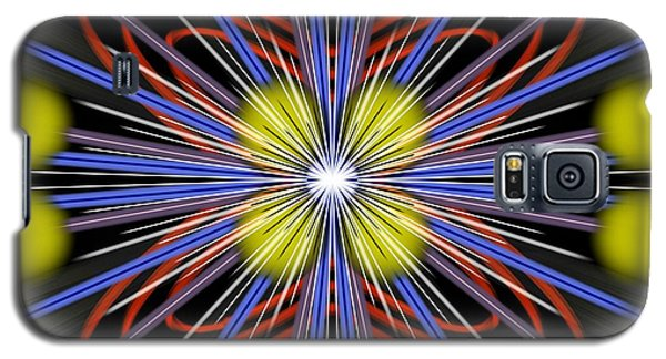 Galaxy S5 Case featuring the digital art Explosion by Brian Johnson