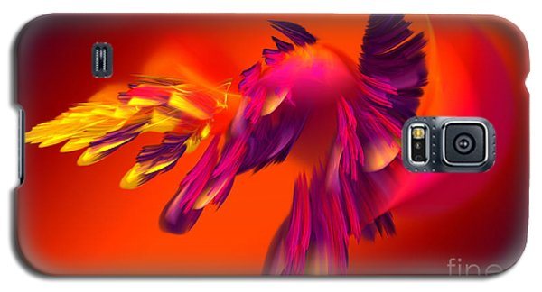 Explosion Of Hot Colors Galaxy S5 Case