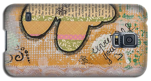 Express Yourself Inspirational Art Galaxy S5 Case by Stanka Vukelic