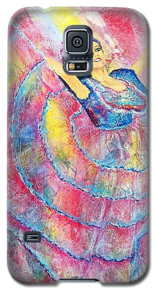 Expressing Her Passion Galaxy S5 Case by Susan DeLain
