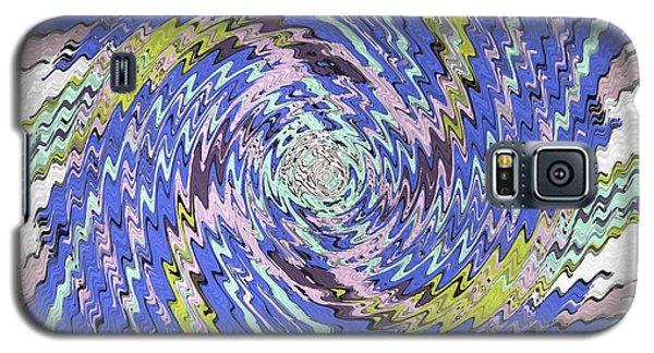 Extruded Twirly Galaxy S5 Case