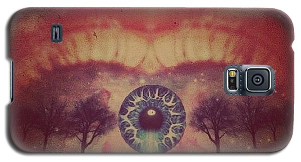 Edit Galaxy S5 Case - eye #dropicomobile #filtermania by Tatyanna Spears