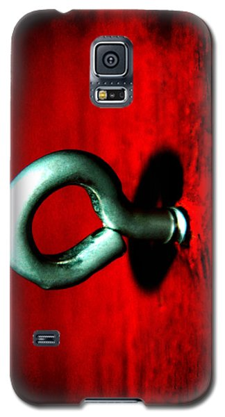 Galaxy S5 Case featuring the photograph Eye Hook by Ester  Rogers