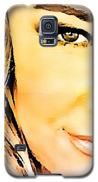 Eye Of A Woman Galaxy S5 Case