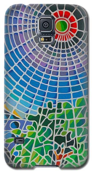 Galaxy S5 Case featuring the digital art Eye Of God by Anthony Mwangi