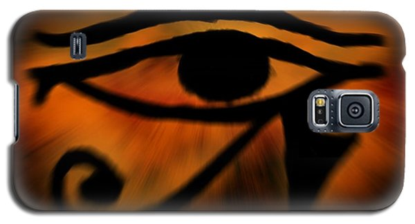 Eye Of Horus Eye Of Ra Galaxy S5 Case by John Wills