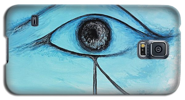 Eye Of Horus In The Sky Galaxy S5 Case