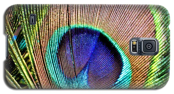 Eye Of The Feather Galaxy S5 Case by Kristin Elmquist