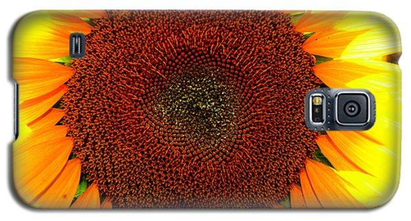 Galaxy S5 Case featuring the photograph Eye Of The Flower 4 by Lyle Crump