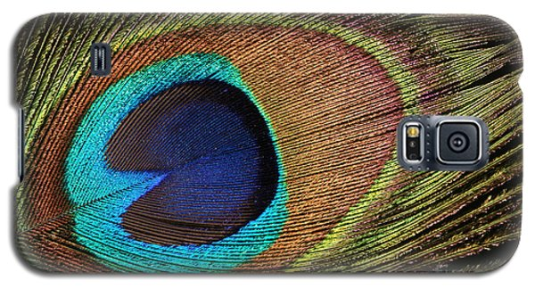 Eye Of The Peacock Galaxy S5 Case by Judy Whitton