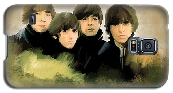 Eye Of The Storm The Beatles Galaxy S5 Case