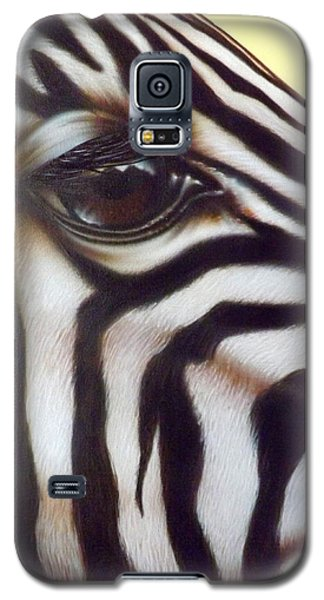 Eye Of The Zebra Galaxy S5 Case