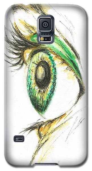 Eye Opener Galaxy S5 Case by Teresa White