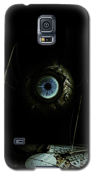 Galaxy S5 Case featuring the digital art Eye Robot by Jeremy Martinson