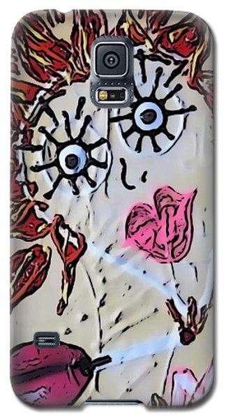 Eye Smoke Discrimination  Galaxy S5 Case by Lisa Piper