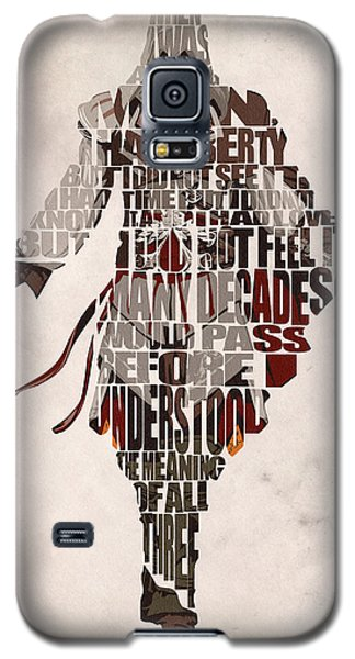 Ezio Auditore Da Firenze From Assassin's Creed 2  Galaxy S5 Case by Ayse Deniz