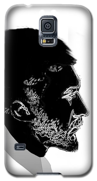 Galaxy S5 Case featuring the digital art Ezra Pound  by Asok Mukhopadhyay