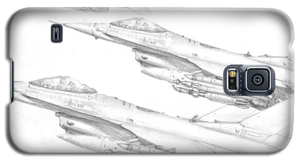 F-16's On Attack Galaxy S5 Case by Jim Hubbard