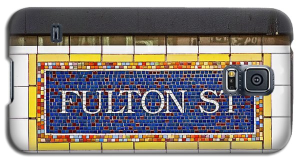 F Is For Fulton Street Galaxy S5 Case