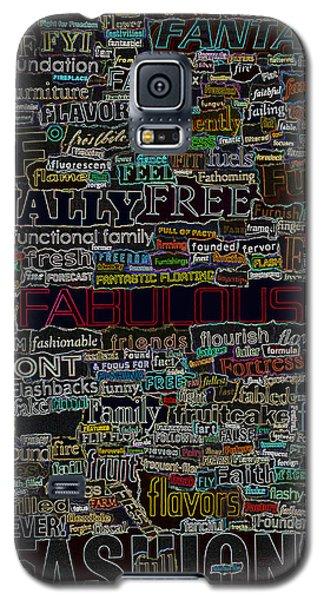 F - Words Galaxy S5 Case
