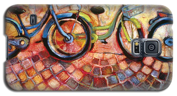 Bicycle Galaxy S5 Case - Fa Caldo Troppo Guidare by Jen Norton