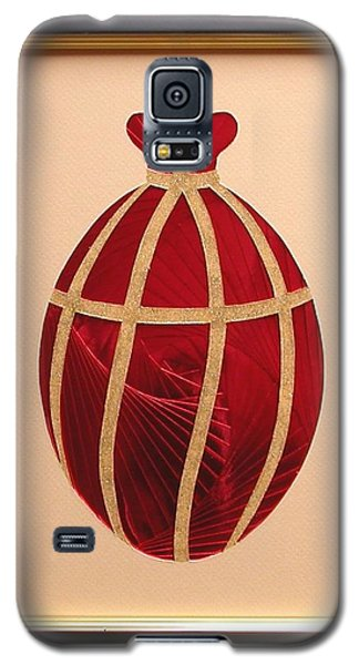 Galaxy S5 Case featuring the mixed media Faberge Egg 2 by Ron Davidson