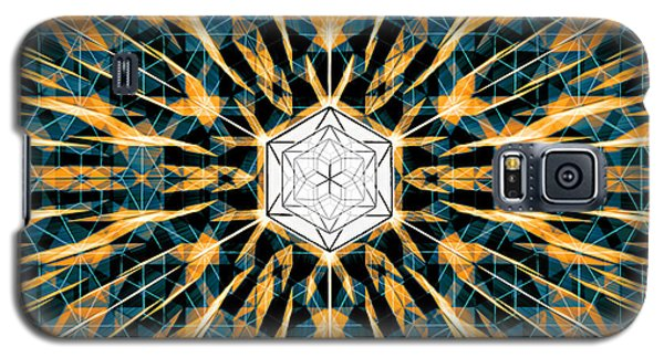 Galaxy S5 Case featuring the drawing Fabric Of The Universe by Derek Gedney