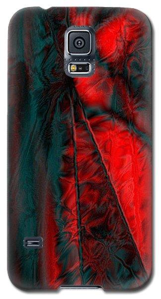 Fabric Study 01 Satin Galaxy S5 Case by Paula Ayers