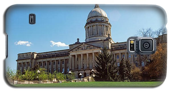 Facade Of State Capitol Building Galaxy S5 Case by Panoramic Images