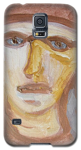 Face Five Galaxy S5 Case by Shea Holliman